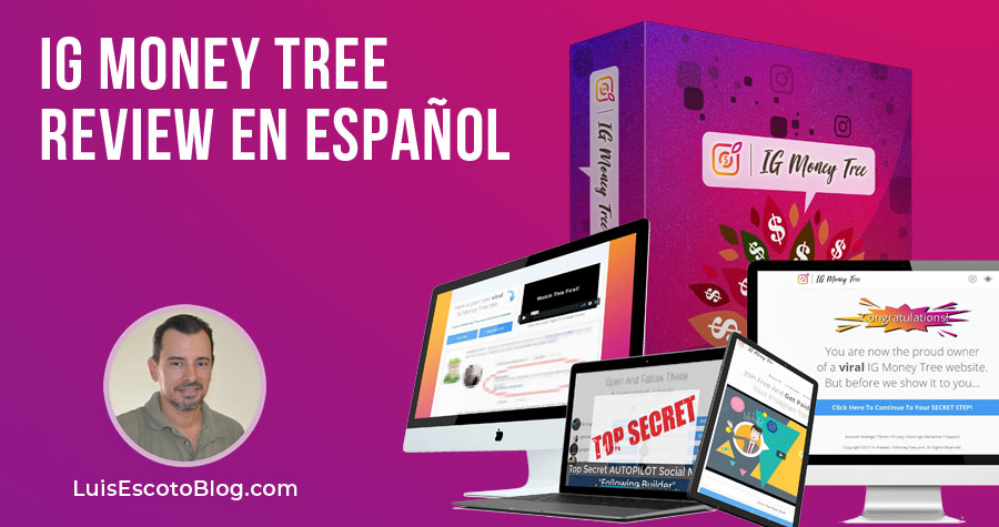 IG MONEY TREE REVIEW EN ESPAÑOL