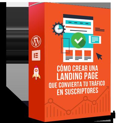 Como Crear Una Landing Page Con Elementor Ebook